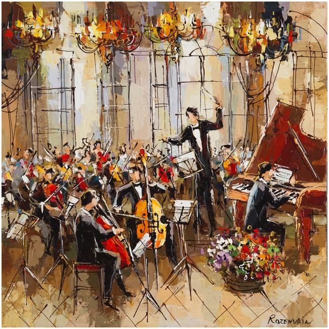 Original Painting by Michael Rozenvain