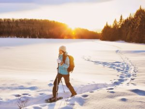 Best Destinations for Snowshoeing in White Mountains of New Hampshire