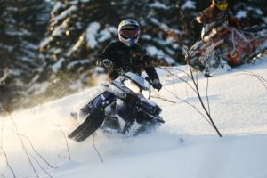 The Best White Mountains Snowmobile Trails Near our Bed and Breakfast