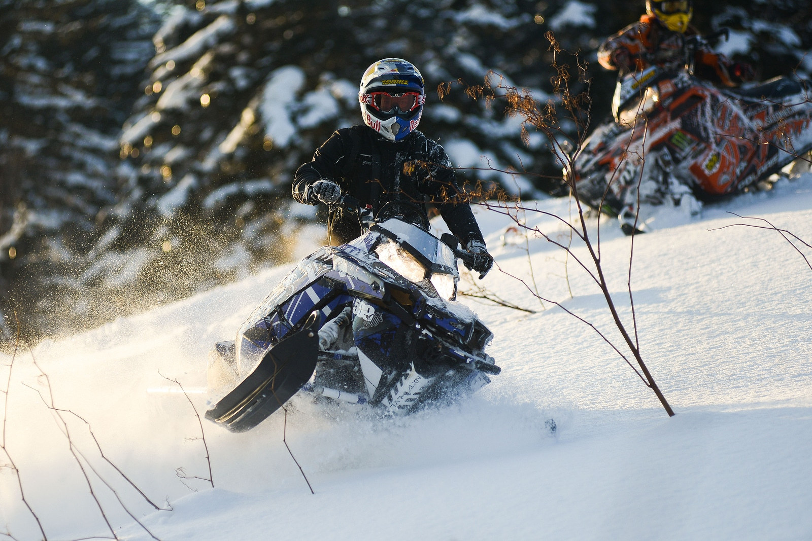 Find The Best Snowmobile Trails In The White Mountains