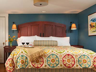 New Hampshire Bed and Breakfast Rooms at Sugar HIll Inn
