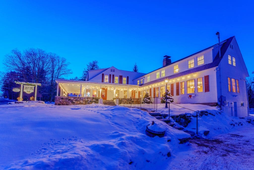 Our Bed and Breakfast in the White Mountains of NH is one of the most romantic getaways this winter