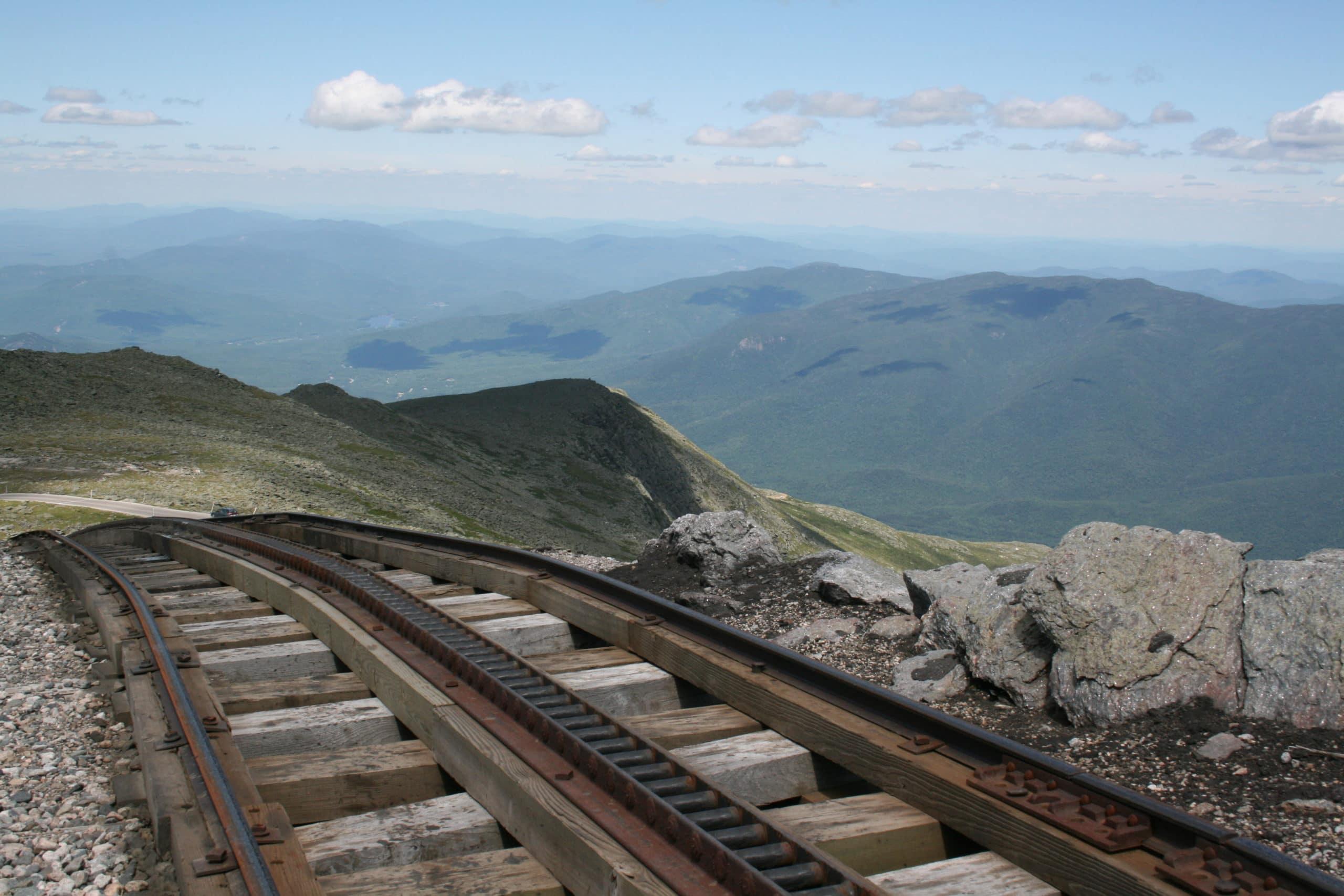 Adventures on the Cog Railway! Explore New Hampshire's Mt. Washington 2