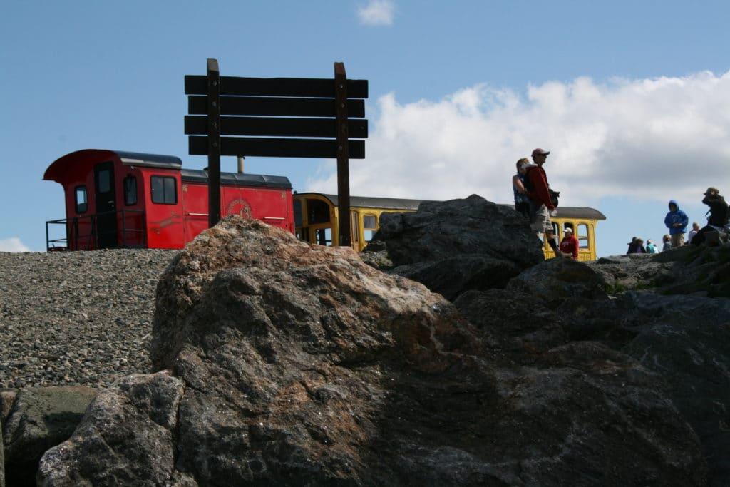 Ride the Cog Railway to the Summit of Mount Washington