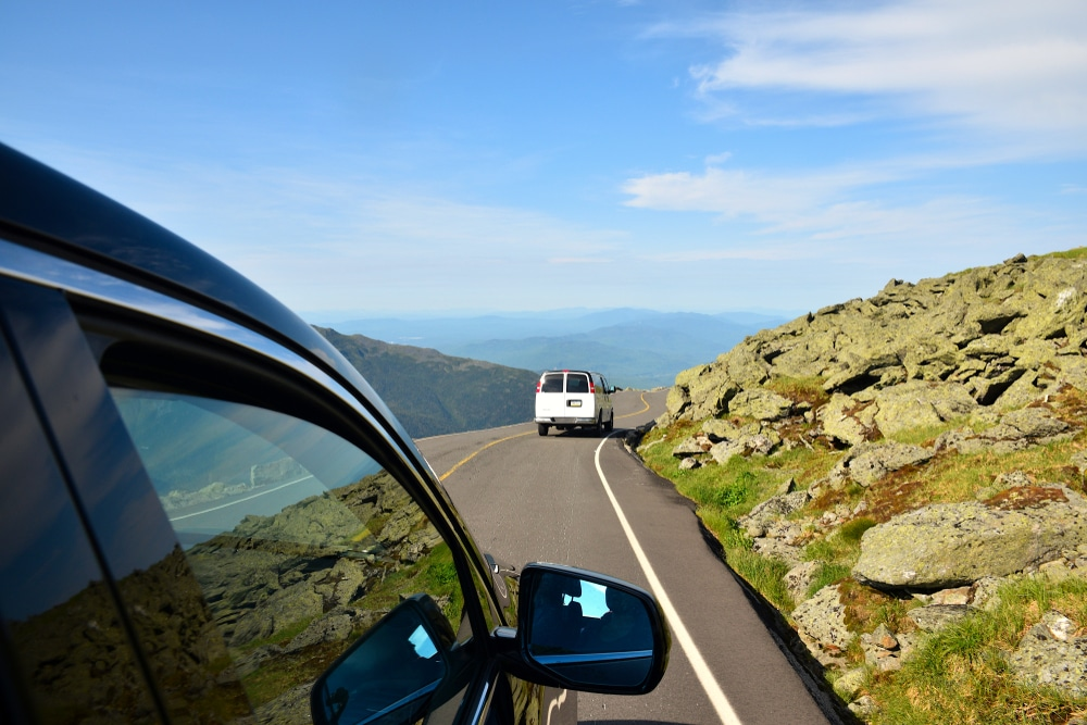 Take the scenic Auto Road to the summit of Mount Washington